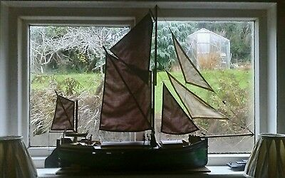 """Radio Controlled Boat Thames Sailing Barge """"Kitty"""""""