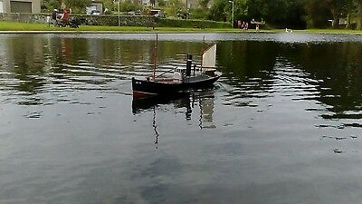 """Radio Controlled Boat Steam Drifter """"Peggy"""""""
