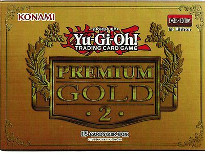 Premium Gold Series 2 ~ 1 booster of 15 cards YuGiOh 1st Edition English Konami