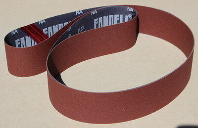 "2"" x 48"" Sanding Belt Premium  A/O - Choice of Grit- (10pc)"