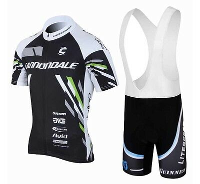 Cannondale Replica Cycling Jersey and Bib Short Set Racing Pro