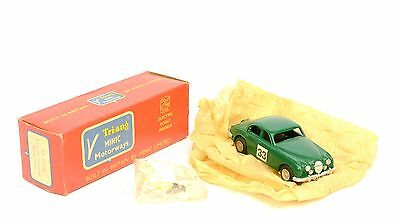 Triang Minic Motorways M1568 3.4 Racing JAGUAR Near MINT BOXED & EXTRAS