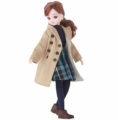 Licca chan doll clothes trench coat rare Japan Import Takara Tomy wear outfit