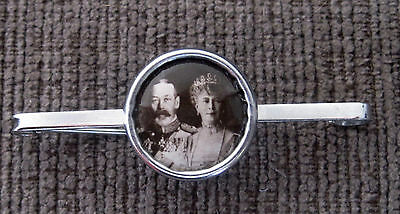 King George V & Queen Mary Tie Pin/Brooch