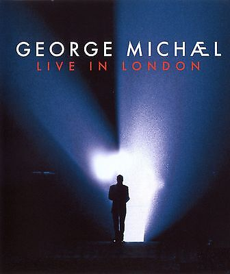 """George Michael Live in London 2009 Rare Promotional Poster 13x20"""" 24x36"""" 32x48"""""""