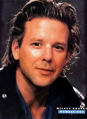"""N188-7/12P48 Mickey Rourke 11X8"""" Colour Poster"""
