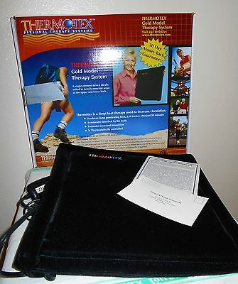 THERMOTEX TTS GOLD 11X13 INFARED THERAPY SYSTEM * opened - never used