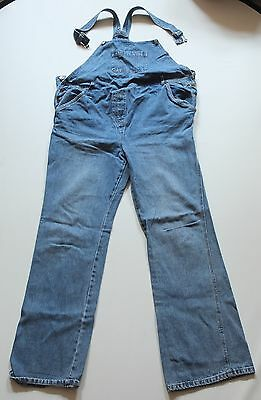 9 Monate coole Latzhose Jeans M 38 TOP