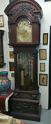 Antique Tiffany & Co . New York Grand Father Clock, Tall Case