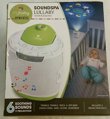 6myBaby Homedics Soundspa Lullaby Sound Machine and Projector