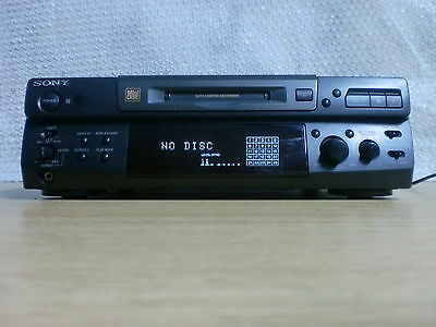 Reproductor De Mini Disc Sony Mds-S38