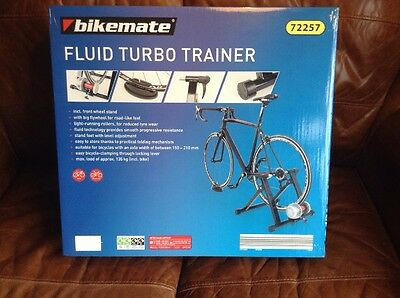 Fluid Turbo Trainer Bicycle Bike Cycle Train Indoors In Winter FREE P&P