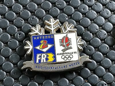 pins pin OLYMPIC JO ALBERTVILLE 92 OLYMPIQUE FR3 ANTENNE 2 2° SEMAINE