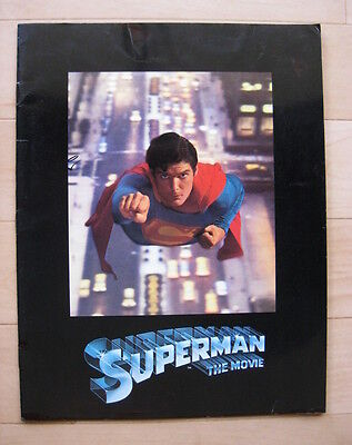 SUPERMAN 1978 Original souvenir movie programme Christopher Reeve Marlon Brando