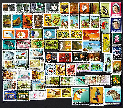 Mnh Stamps Of Papua New Guinea 1970 - 1978