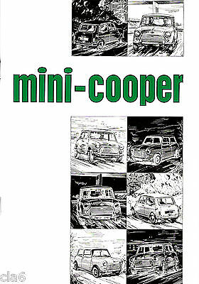 Mini Cooper and S Mk 2 Owners Handbook #AKD4997 *NEW