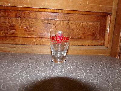 Vintage 1955 Squirt and Whiskey Glow Ball Squirt Soda High Ball Glass