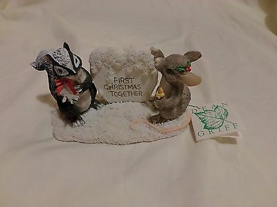 Charming Tails 1ST CHRISTMAS YOU MELT MY HEART SILVESTRI SIGNED TAGGED (62)