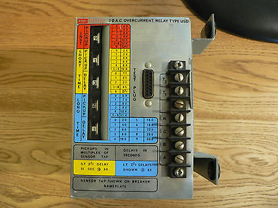 Federal Pioneer USD Relay Three Phase Protection Relay FPL FPE USD-3