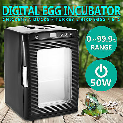 Reptile Egg Incubator  Led Indicator Reptipro Lcd Display 12Volts Dc 220~240V Ac