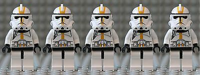 LEGO Star Wars™ Yellow Elite Clone Trooper - Star Corps. - Lot of 5 -  x5