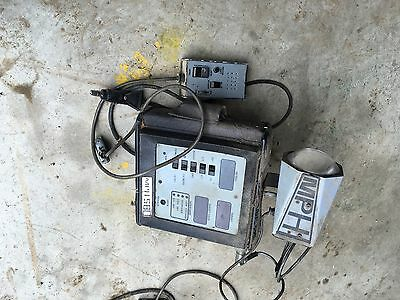 Vintage Electronic Police Speed Radar Detection System Detector patrol car