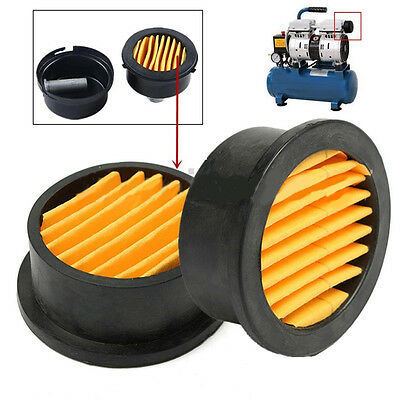 2'' Dia 1/2'' MPT Compressor Metal Air Filter Intake Silencer Paper Cartridge
