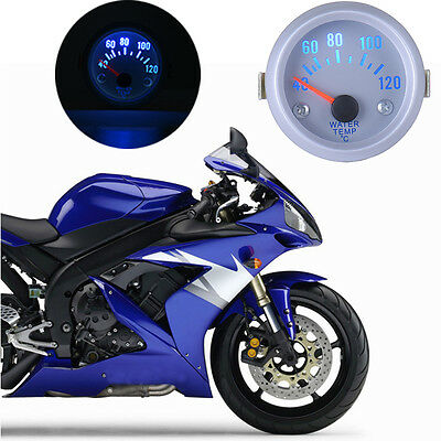 52MM 40~120℃ Water Temperature Gauge B739 Motorcycle Auto Led Water Thermometer