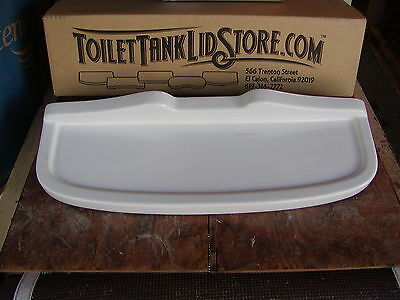 American Standard F4095  Antique Toilet Tank Lid (See comments below) chips 10C
