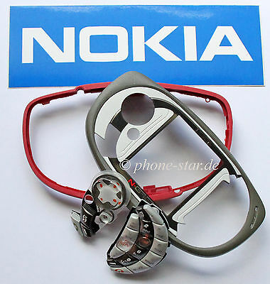 Original Nokia N-Gage Qd A Cover Front Outer Case Keyboard Grip Housing Fascia