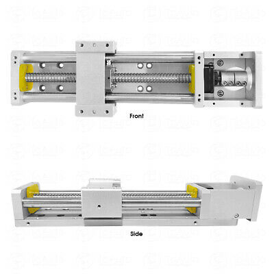 Stroke 300mm Electric CNC Cross Sliding Working Table XYZ Axis Linear Guides
