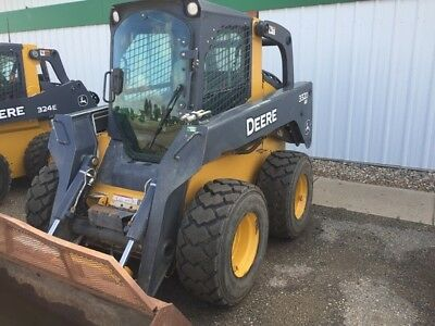 2011 John Deere 332D Skid Steer Loader