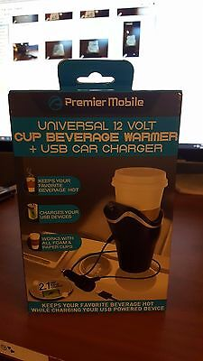 !2 volt universal coffee warmer USB car charger