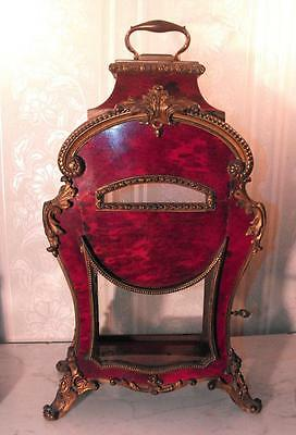 Mid 18Th C French Boulle Faux Tortoiseshell Ormolu Clock Display Case Sample