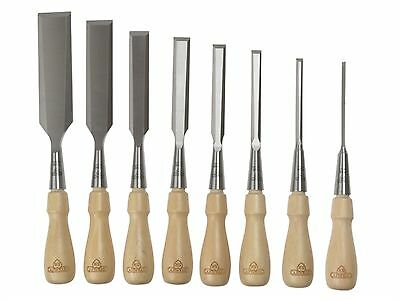 STANLEY 116793 Sweetheart Socket Chisel Set of 8: 3,6,8,12,15,18,25 & 32mm. NEW
