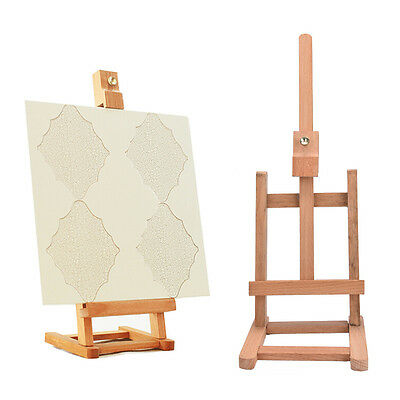 New 43cm Mini Artist wooden Folding Painting Easel Frame Adjustable Tripod SdsaP
