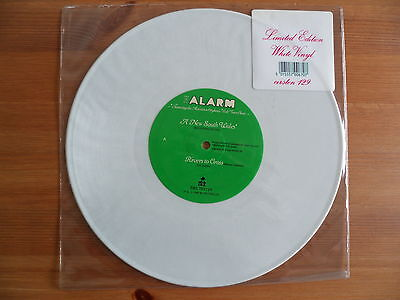 """The Alarm - A New South Wales - Limited 10"""" White Vinyl Single"""