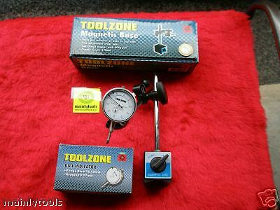 Dti Stand Magnetic Base + Dial Test Indicator (Tool For Measuring