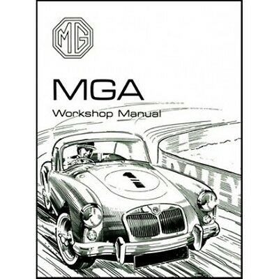 MG MGA Workshop Manual 1500 1600 1600 MK II book paper