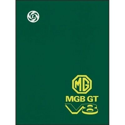 MGB GT V8 Workshop Manual Supplement book paper