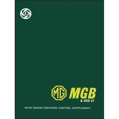 MG MGB & MGB GT Workshop Manuall book paper car