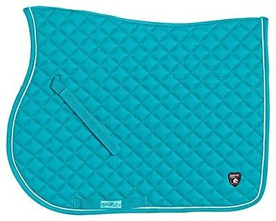 Fair Play Amber Close Contact Saddle Cloth In Turquoise  Size Full