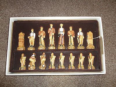 history of golf chess set by anne carlton