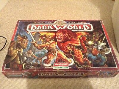 Waddingtons Darkworld A Game For Adventurers With Courage Skill & Daring!