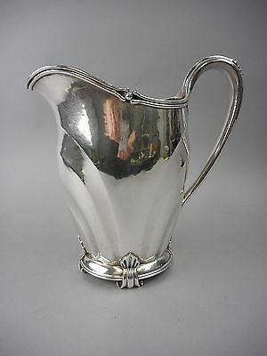 Arts &Crafts Woodside Sterling Hand Wrought Water Pitcher 30ozt Marshall Fields