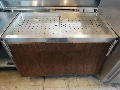 Vollrath Stainless Steel Commercial Serving Station Table