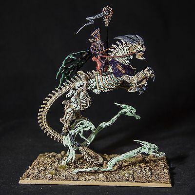 WARHAMMER Arkhan the Black - Mortarch of Sacrament PAINTED - DIPINTO