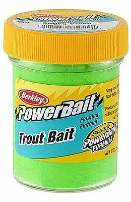 New Berkley Jarred Soft Floating PowerBait Dough for Trout Spring Green BTBSG2