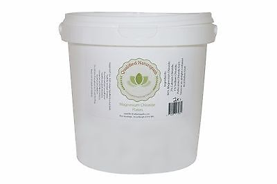 2kg Bucket - Magnesium Chloride Flakes