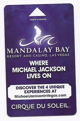 MICHAEL JACKSON MANDALAY BAY Room KEY Las Vegas ONE Cirque du Soleil ~ FREE SHIP
